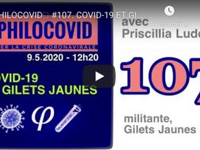 PHILOCOVID #107. COVID-19 ET GILETS JAUNES, avec PRISCILLIA LUDOSKY -