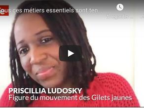 """""""En direct avec Priscillia Ludosky, figure du mouvement des Gilets jaune, qui lance une nouvelle pét"""