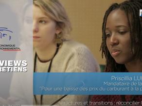 """Audition et Itw de Priscillia Ludosky - """"Réconcilier la France"""" - CESE"""