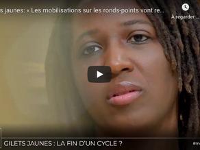 """""""Gilets jaunes: « Les mobilisations sur les ronds-points vont reprendre »"""