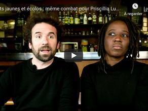 """""""Gilets jaunes et écolos : même combat pour Priscillia Ludosky et Cyril Dion"""""""