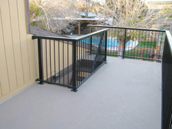 Balcony deck Remodel 1
