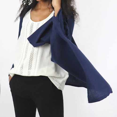 Classic Feather Lite Cashmere S'hug® -Navy