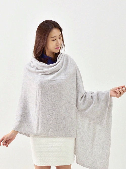 Lt Heather Grey Classic Cashmere S'hug®