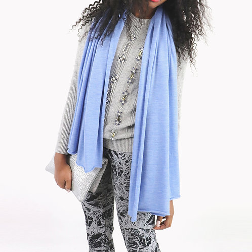Feather Light Cashmere S'hug® -Indigo Blue