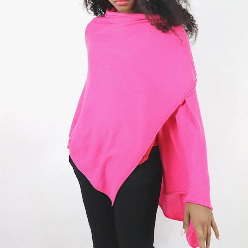 Feather Light Cashmere S'hug® - Hot Pink