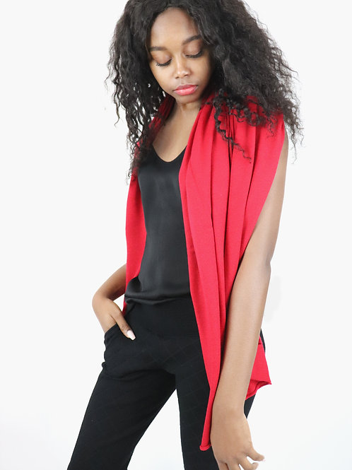 Feather Light Cashmere S'hug® - Postbox Red