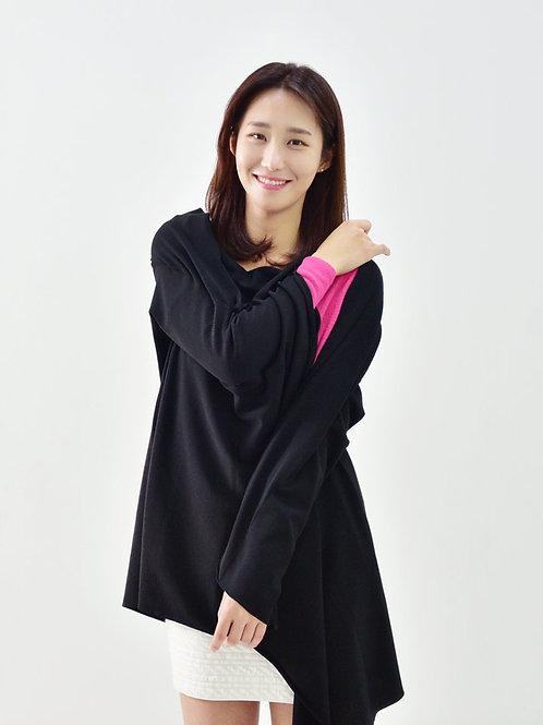 Black Classic Cashmere S'hug®