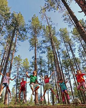 preteens fun in woods.jpg