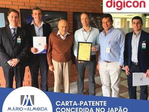 Case de Sucesso: DIGICON recebe carta-patente no Japão