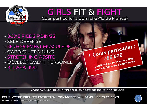 Cours particulier GIRL FIT & FIGHT