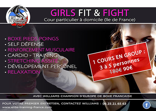 Girl Fit & Fight (goup 3 à 5 personne)