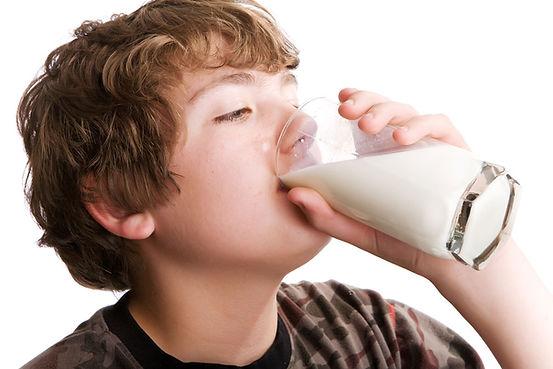 Milch trinken