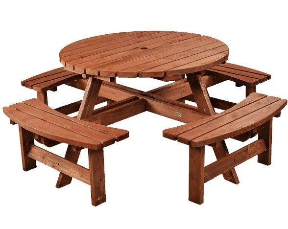 Caster Picnic Table
