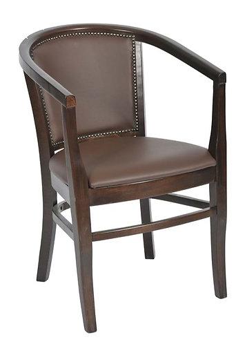 Nada Tub Chair Dark Oak