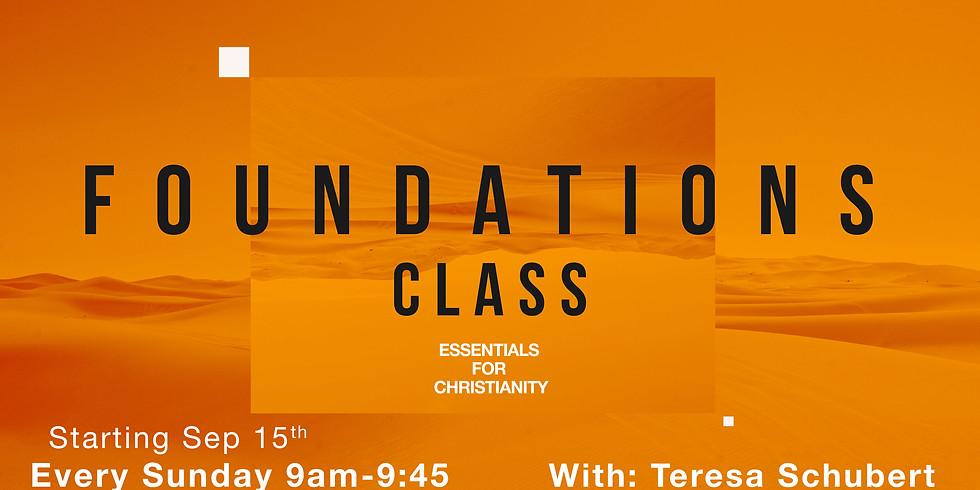 Foundations Class - 2019