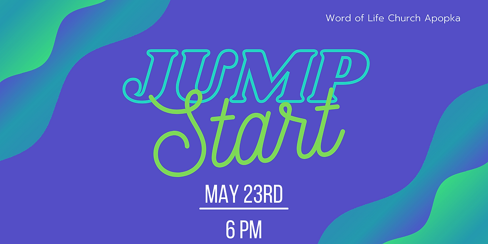 Jumpstart- New Members Class- May 23rd
