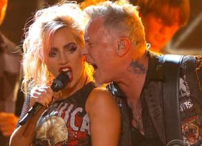"""James Hetfield: """"respeto a Lady Gaga como artista"""""""