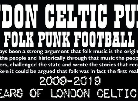 London Celtic Punks Album Review.(Return to the Stones)