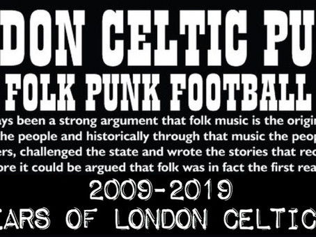 London Celtic Punks Album Review.(Return to the Stones)
