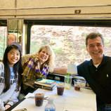 Train Ride Blue Ridge Mountains