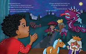 Sir Drake the Brave_Double Spread Sample