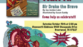 SIR DRAKE THE BRAVE Outdoor Book Launch and Kids' Party!