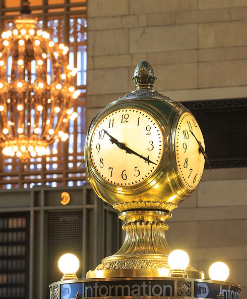 Grand Central Terminal Clock, New York,