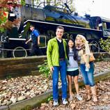 Train Ride in Blue Ridge Mountains