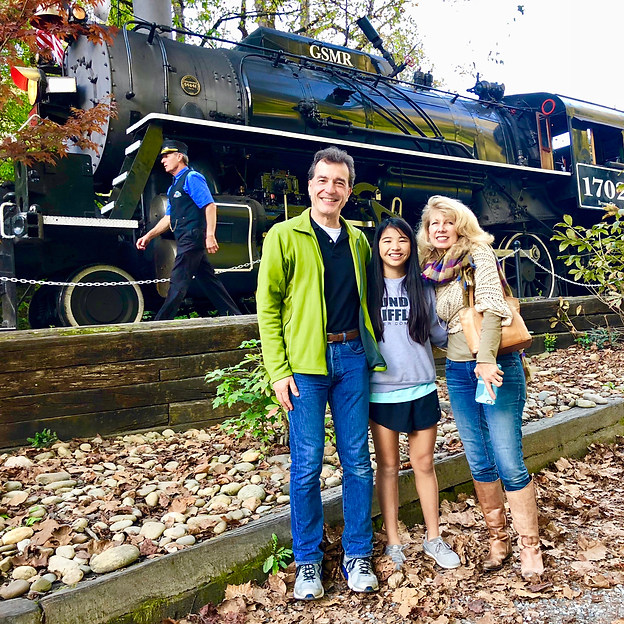 Train Ride in Blue Ridge Mountains