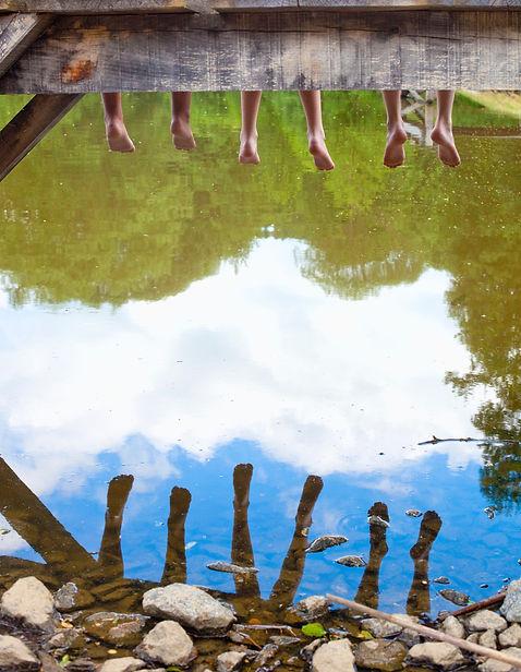 Feet dangline in lake .jpg