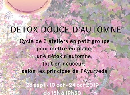 Detox douce d'automne
