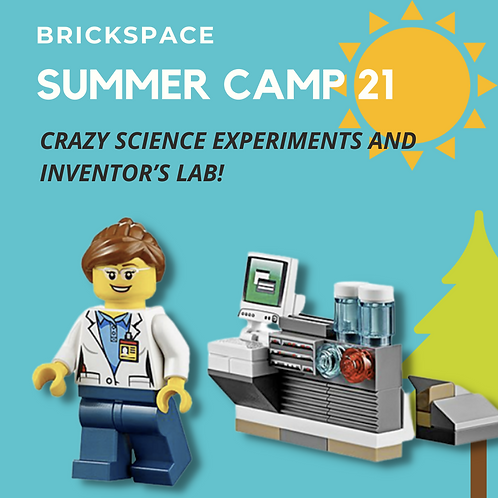 Science Experiments and Inventor's Lab! JUNE 14 – JULY 18, 12:30-3:30pm