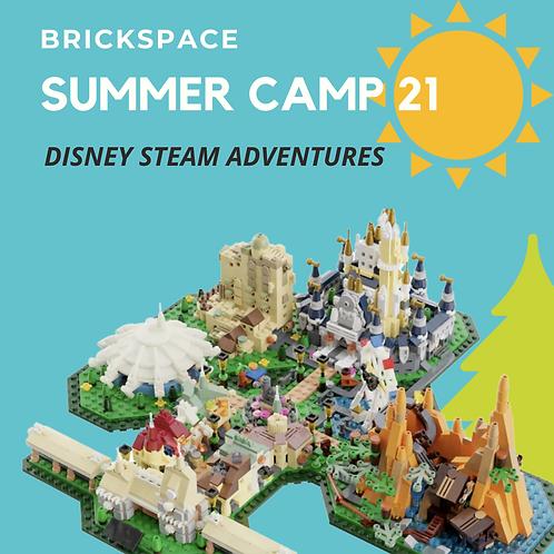 Disney STEAM Adventures JUNE 14 – JULY 18, 9 -12 pm