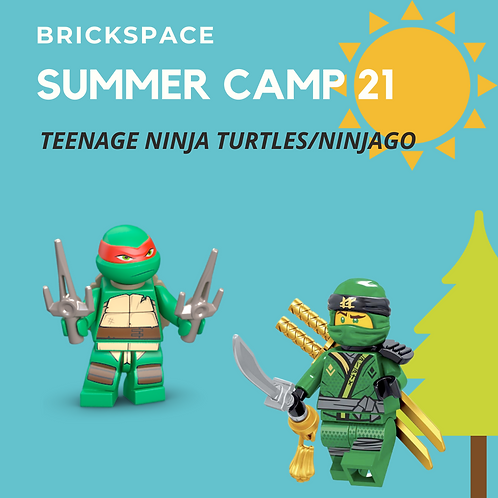 Teenage Ninja Turtles/Ninjago - JUNE 28 – JULY 29, 9am-12pm