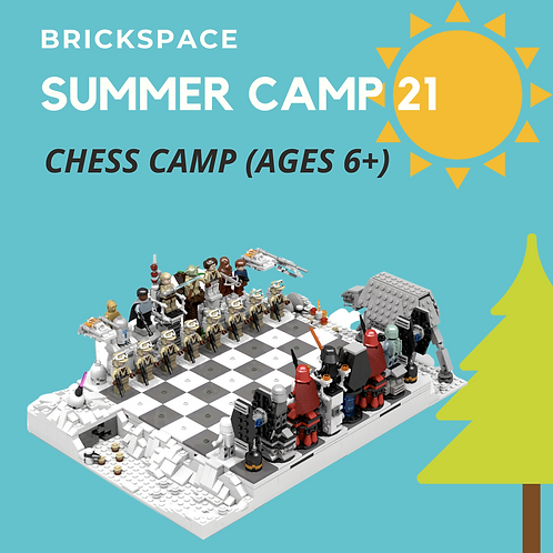 Chess Camp (Ages 6+) JULY 5-9 -12:30-3:30 pm