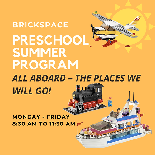 All Aboard – the places we will go!