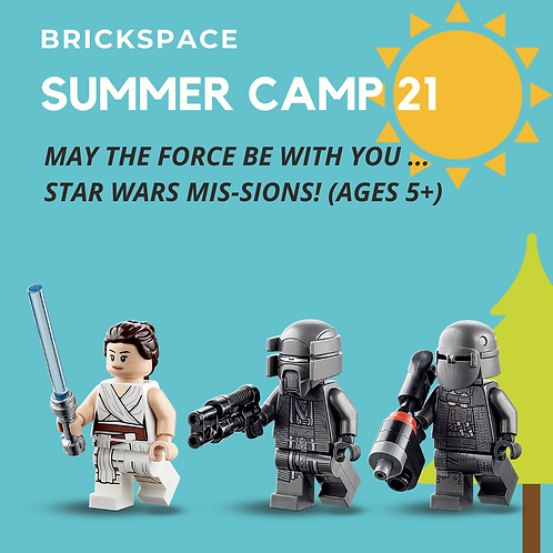 Star Wars Mis-sions! JULY 5-9, 9 -12 pm