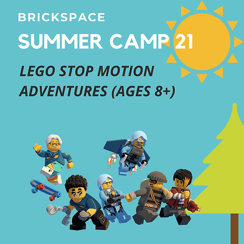 LEGO Stop Motion Adventures - JULY 19-23, 8:30-11:30 am