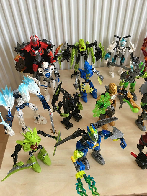 In-Person: Bionicles/Hero Factory  Mini Camp -Martin Luther King Jr Day