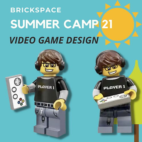 Video Game Design -JULY 12-16,  8:30-11:30 am