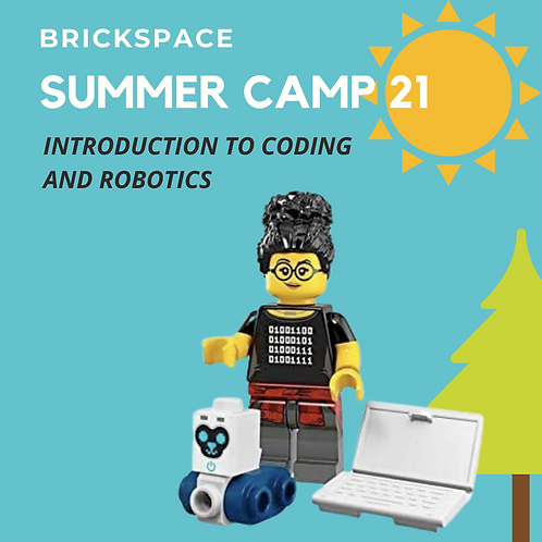 Introduction to Coding and Robotics - JUNE 7-11 , 9am-12pm