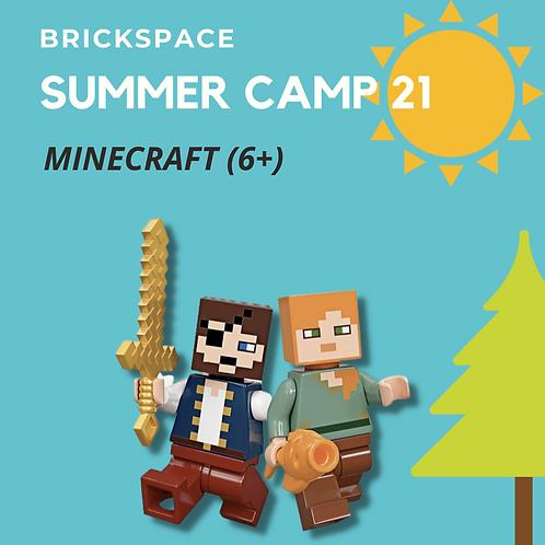 MineCraft (6+)  JULY 19 -  23, 12:30 -3:30 pm