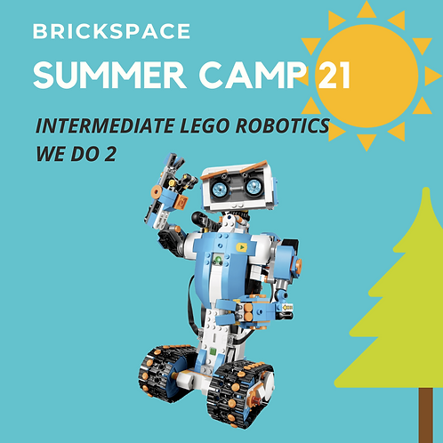 Intermediate LEGO Robotics - JUNE 14 – JULY 18, 8:30-11:30 am