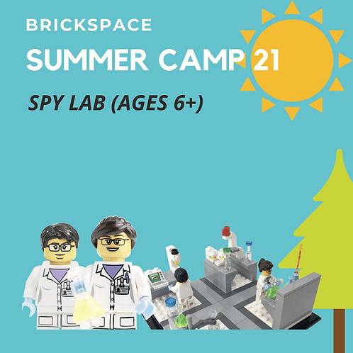 SPY LAB (Ages 6+)  JULY 19-23, 9-12pm