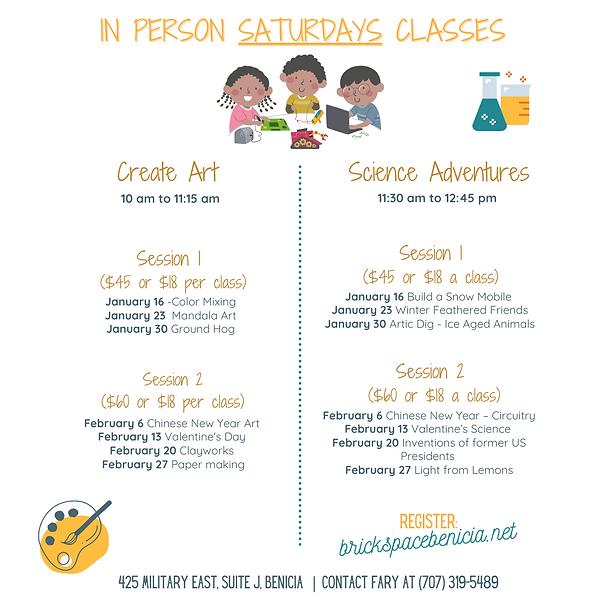 In-person-Saturday Classes - Instagram(2