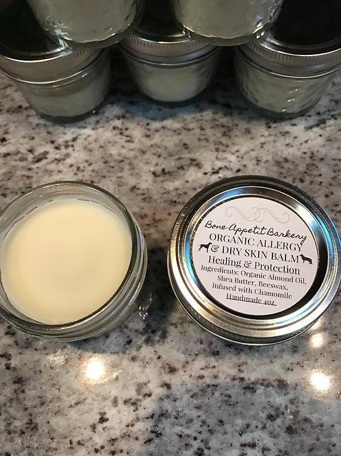 Organic Allergy & Dry Skin Balm - Healing & Protection