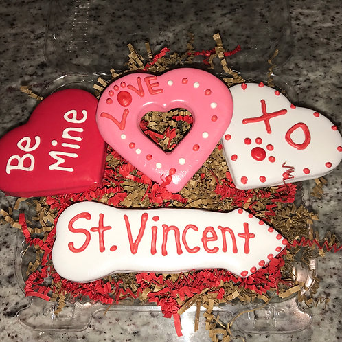 Personalized Valentine's Day Treat Box - grain free