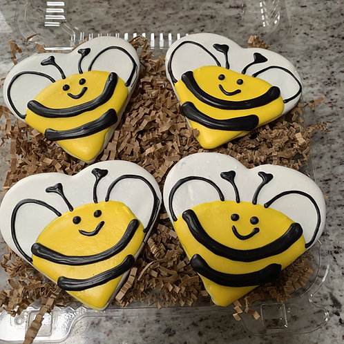 Bumble Bee Heart Treats - 4 Pack Grain Free