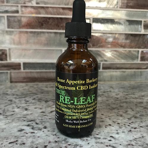 CBD Full Spectrum & Isolate Oil - 30 servings per bottle